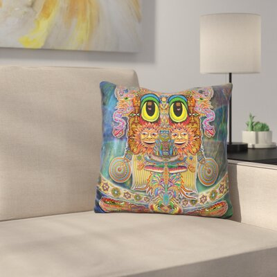 Saintart Throw Pillow