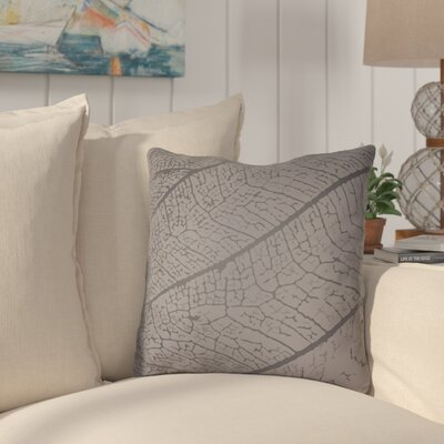 Morrow Throw Pillow Size: 20 H x 20 W x 4 D, Color: Dark Grey