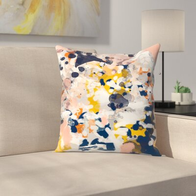 Charlotte Winter Stella Throw Pillow Size: 20 x 20