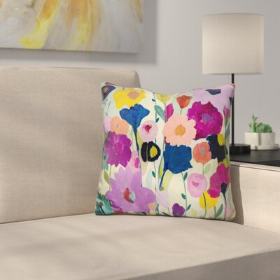 McColgan Blooms Have Burst Throw Pillow