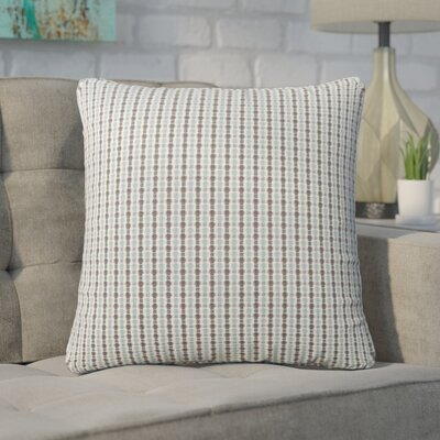 Tangerang Dot Throw Pillow Color: Light Gray/Black