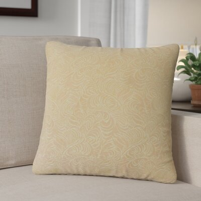Virginia Damask Cotton Throw Pillow