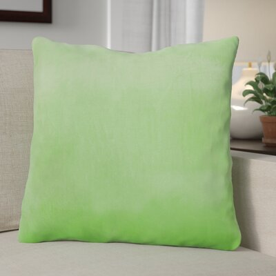 Eason Supersoft Shell Pillow Cover Color: Green Flash