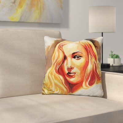 Veronica Lake Throw Pillow