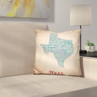 Marulli Texas Throw Pillow