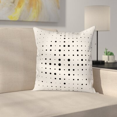 Modern Dots Pillow Cover Size: 24 x 24