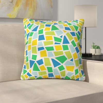 Baby Beach Bum Throw Pillow Size: 16 x 16, Color: Green
