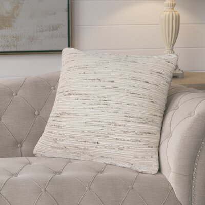 Doyden Textured Throw Pillow Fill Material: Polyester/Polyfill