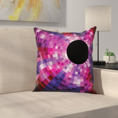Removable Stain Resistant Square Pillow Cover Size: 24 x 24