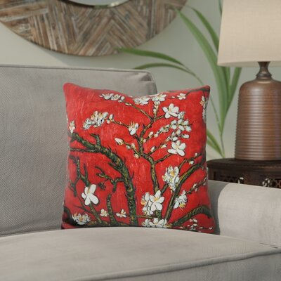 Eckenrode Almond Blossom Throw Pillow