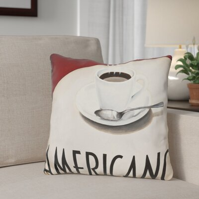 Geraci Cafe Moderne Throw Pillow