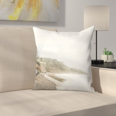 Luke Gram Ecola State Park Oregon Throw Pillow Size: 18 x 18