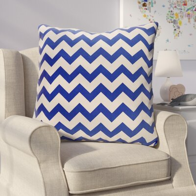 Milo Decorative Outdoor Pillow Color: Dazzling Blue, Size: 18