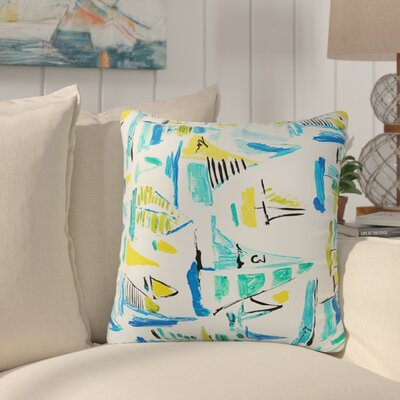 Greenport Geometric Indoor/Outdoor Throw Pillow