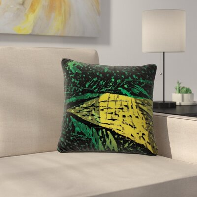 Family by Theresa Giolzetti Outdoor Throw Pillow Color: Green/Yellow