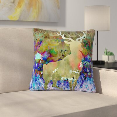 Suzanne Carter Regal Outdoor Throw Pillow Size: 18 H x 18 W x 5 D
