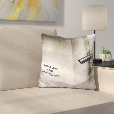 Security Camera Throw Pillow