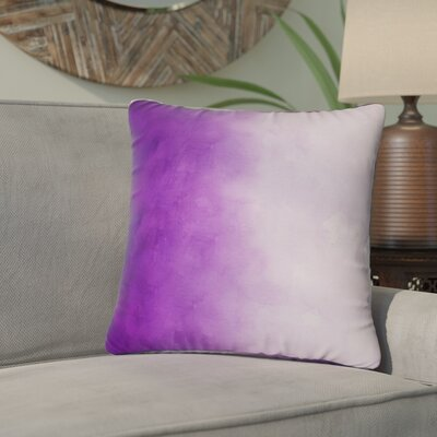 Ashford Printed Throw Pillow Size: 16 H x 16 W x 4 D, Color: Purple
