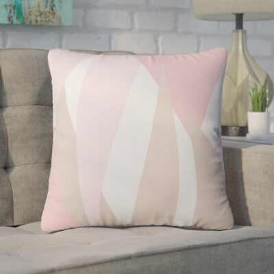 Centers Blush Mod Outdoor Throw Pillow Size: 18 H x 18 W x 5 D