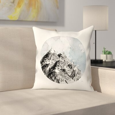 How Many Roads Throw Pillow Size: 14 x 14