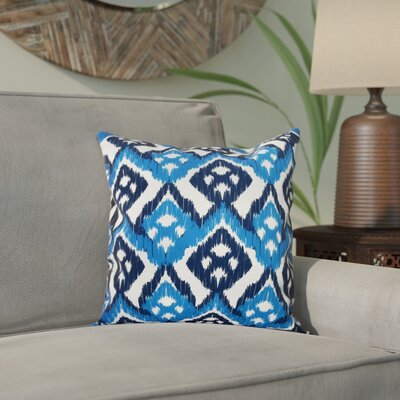 Oliver Hipster Throw Pillow Size: 18 H x 18 W, Color: Dark Blue