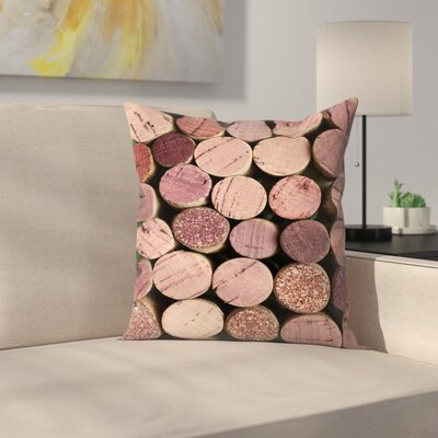 Maja Hrnjak Wine1 Throw Pillow Size: 16 x 16