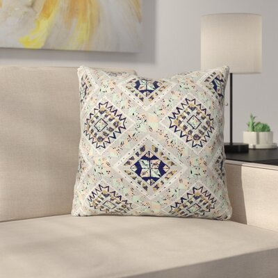 Marta Barragan Camarasa Mystic Tribal Throw Pillow Color: Gray, Size: 18 x 18