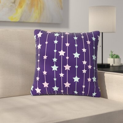 NL Designs Twinkle Twinkle LIttle Star Outdoor Throw Pillow Size: 16 H x 16 W x 5 D