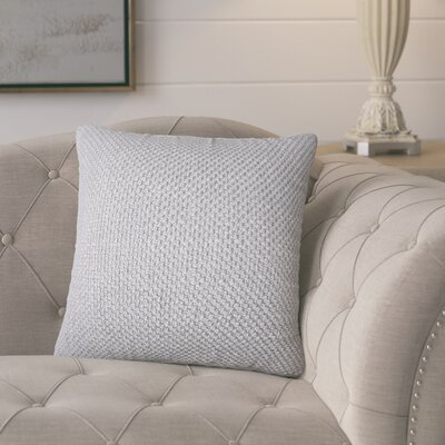 Nik Solid Down Filled Throw Pillow Size: 18 x 18, Color: Mineral
