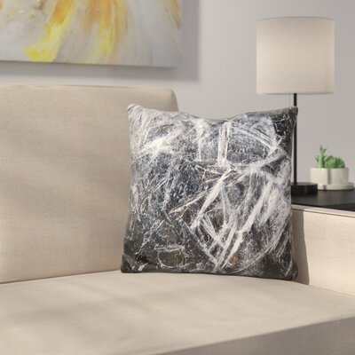 Ice Patterns Throw Pillow