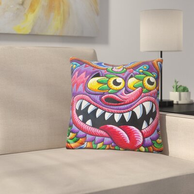 Cheshire Cat Portland Throw Pillow