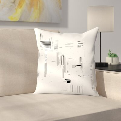 Modern Minimalist Throw Pillow Size: 16 x 16