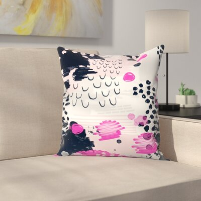 Charlotte Winter Jiri Throw Pillow Size: 14 x 14