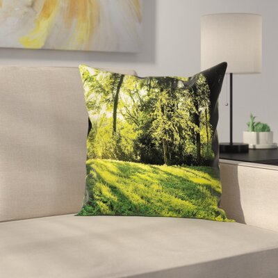 Removable Pillow Cover Size: 18 x 18