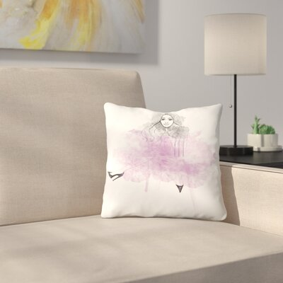 Tutu Love Throw Pillow Size: 18 x 18
