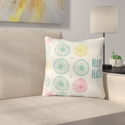 Vanover Nap Hard Decorative Embroidered 100% Cotton Throw Pillow