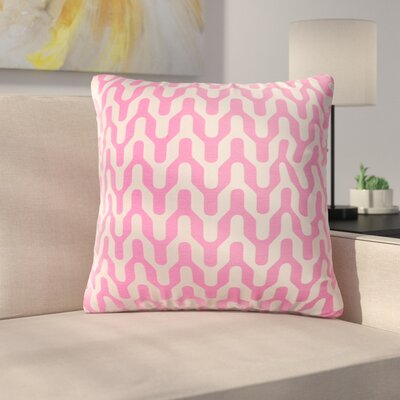Arellano Decorative Throw Pillow Color: Pink