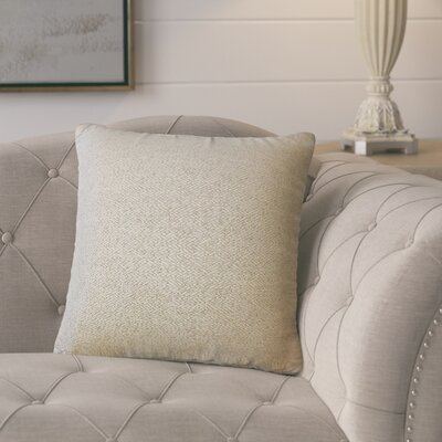 Dini Solid Down Filled Throw Pillow Size: 18 x 18