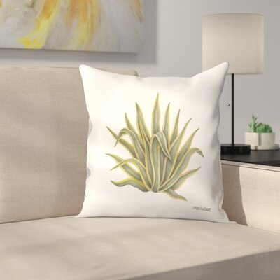 Agave Throw Pillow Size: 18 x 18