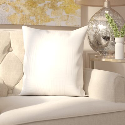 Holden 100% Cotton Throw Pillow Cover Size: 22 H x 22 W x 0.25 D, Color: Neutral