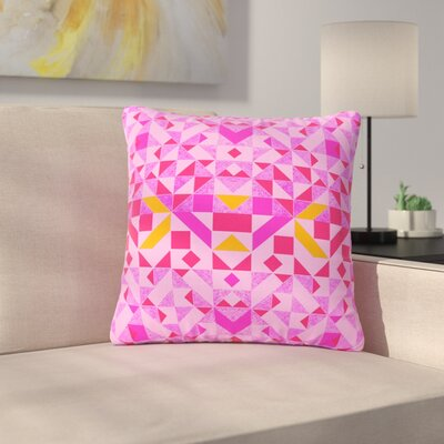 Vasare Nar Candy Geometric Geometric Outdoor Throw Pillow Size: 18 H x 18 W x 5 D