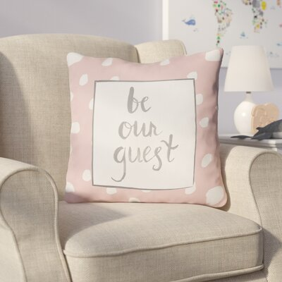 Gianna Indoor/OutdoorThrow Pillow Size: 20 H x 20 W x 4 D, Color: Pink