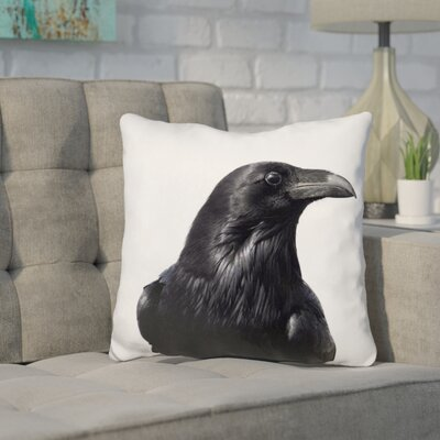 Kelson Raven Throw Pillow
