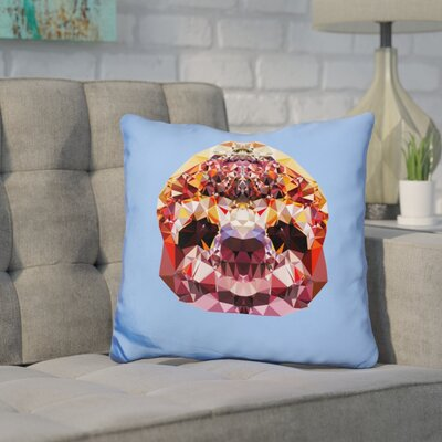 Corker Sloth Throw Pillow