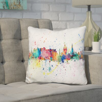 Jimenez Edinburgh Scotland Throw Pillow