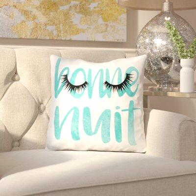 Emmi Bonne Nuit Throw Pillow