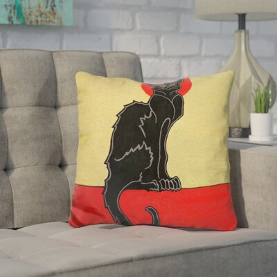 Core Cat Moon Throw Pillow
