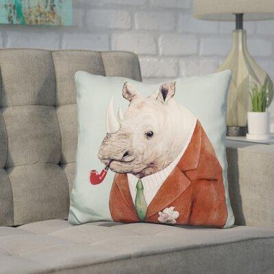 Hibbitts Rhino Throw Pillow