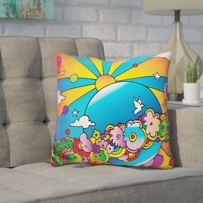 Corinna Planet Throw Pillow