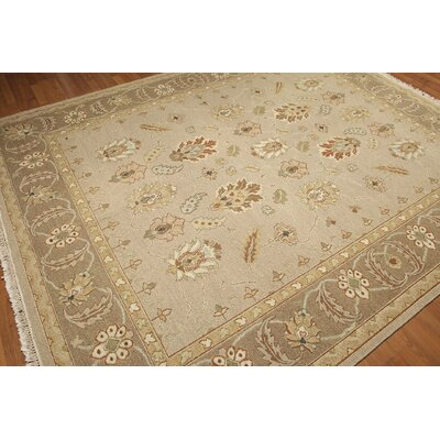 One-of-a-Kind Hamilton Soumac Oriental Hand-Knotted Wool Beige/Rust Area Rug